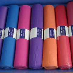 pvc yoga mat single color