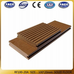 China factory environmental wpc decking floor tile wood plastic composite