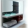 Double sink vanities, double sink vabinet, double sink vanity N817
