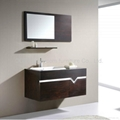 MDF bath vanity, bathroom vanity, bathroo cabinet OE-N702 wenge