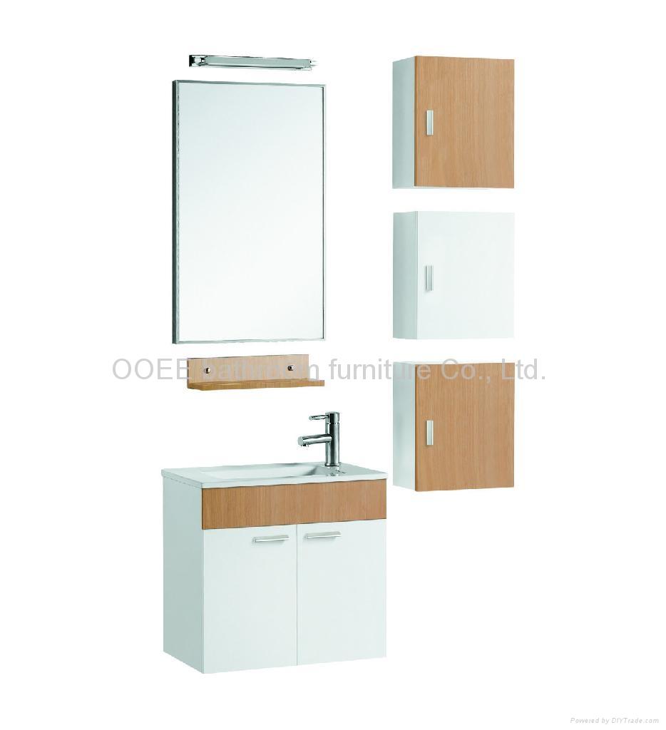 Melamine Bathroom Cabinet Melamine Vanity Cabinet J366011WO OOEE