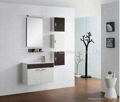 Melamine bathroom cabine