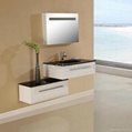 Modern Solid Wood Bathroom cabinet N683