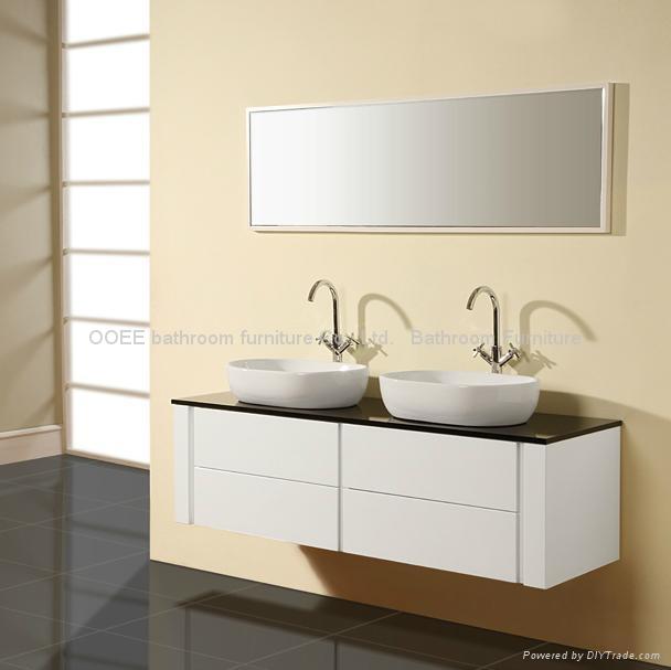 Double Basin Bathroom Sink Cabi Bath Vanity N834b Best 2017