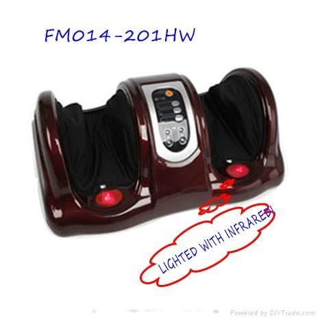 Kneading shiatsu with remote control foot massager 1