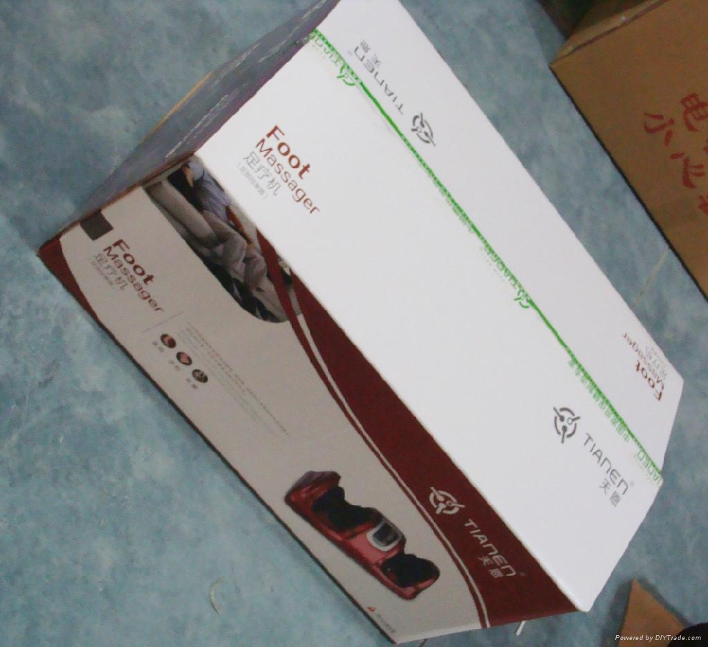 Kneading shiatsu with remote control foot massager 5