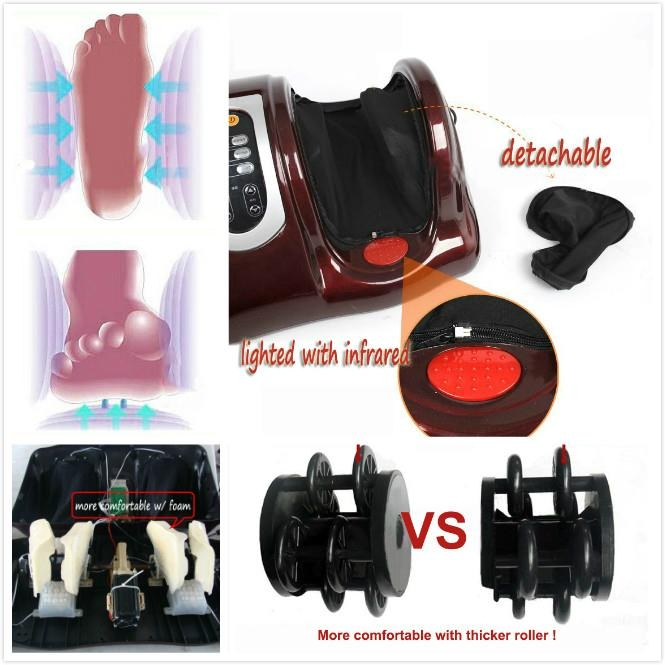 2014 Top New Kneading  physical therapy foot massager with remoter 2