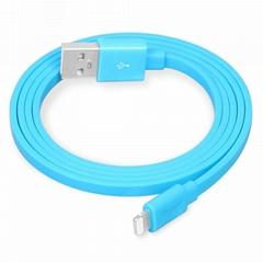 Factory MFi 8pin flat sync charging USB
