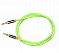 3.5mm jack audio AUX cable for car