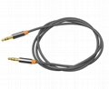 3.5mm jack audio AUX cable for car with