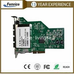 1Gbps Quad Port Server Adapter Ethernet PCI-E Server Adapter SFP Slot