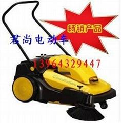 天津市手推式電動掃地車