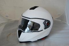 ABS新料揭面盔