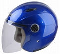 motorcycle open face helmet NEW ABS