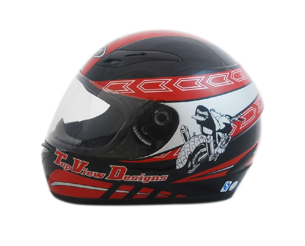 NEW ABS motorcycle full face helmet 4