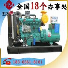 濰坊100WKW自動化柴油發電機組