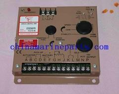 Generator Speed Control Panel ESD5570E