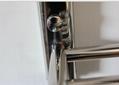 The bathroom stainless steel electric heating towel rack shelf that defend bath 2