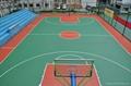 湖南株洲长沙住宅小区单位硅pu篮球场 1