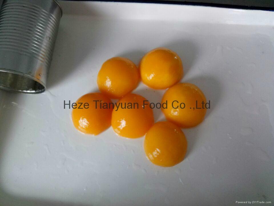 厂家直销黄桃罐头,质量保证 1