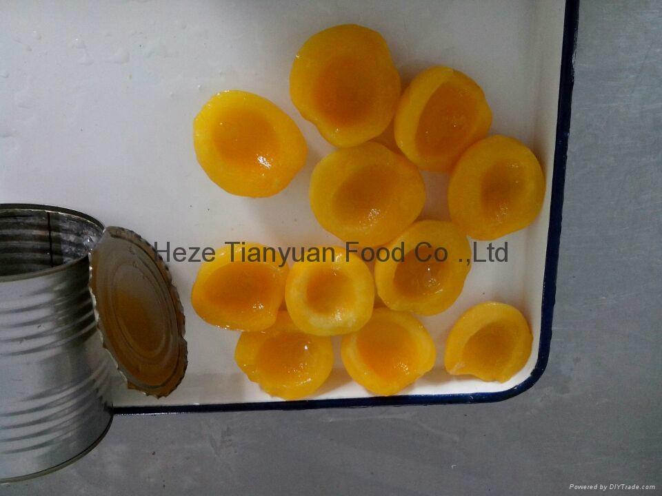 厂家直销黄桃罐头,质量保证 3