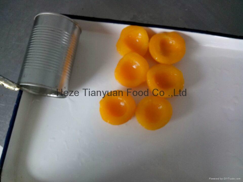 厂家直销黄桃罐头,质量保证 2