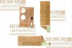 tungsten copper composite electrode