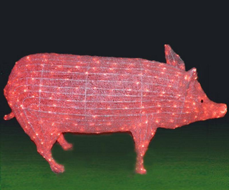 Led Christmas Figures 3d Acrylic Animals Led Deer Motif