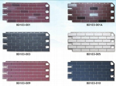 Exterior Decorative Siding Panel PP Decorative Wall Cladding Board
