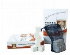 9PCS Ceramic Whisky Stone in Gift Box