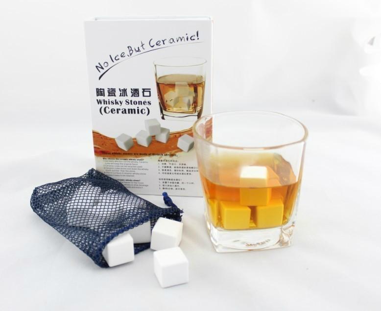 9PCS Ceramic Whisky Stone in Gift Box 2