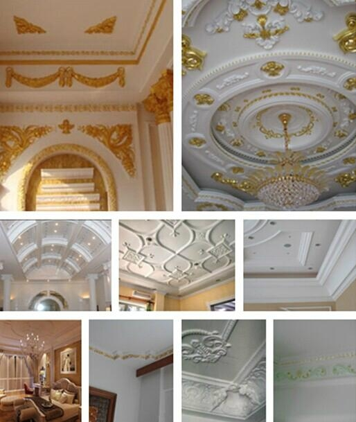Decoration Material For Home Design Gypsum Plaster