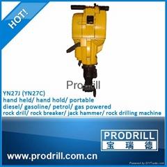 YN27J Gasoline Rock Drill for Breaking