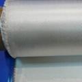 High silica fiber fabric