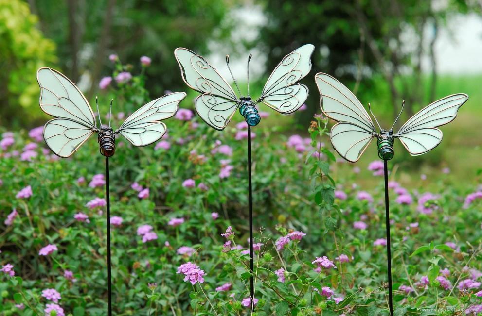 Glow In The Dark Butterfly Garden Stake Factory 1 ...