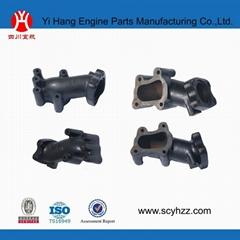 isuzu diesel engine exhaust pipe