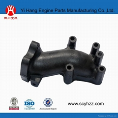 truck parts exhaust pipe