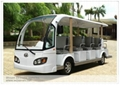 14 seats electric travelling bus shuttle bus  electric sightseeing car 3