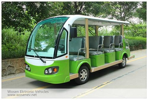 14 seats electric travelling bus shuttle bus  electric sightseeing car 5