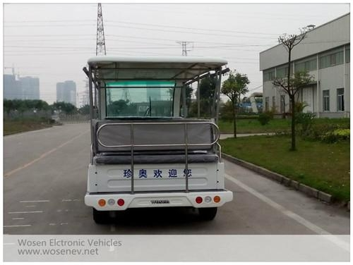 High quality 23 seats electric tourist car electric sightseeing car 3