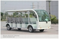 High quality 23 seats electric tourist car electric sightseeing car 2