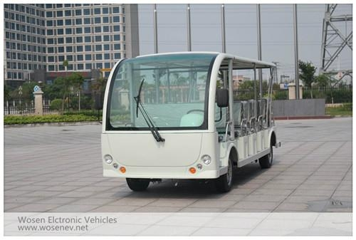 High quality 23 seats electric tourist car electric sightseeing car 1