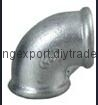 Malleable Ductile Cast Casting Black Galvanized Iron elbow