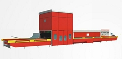 GX-YXW Asymmertrical Bending Glass Tempering Glass Furnace