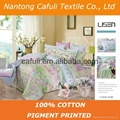 New Products100% Cotton Twill Pigment Printed Bedding Fabric 4