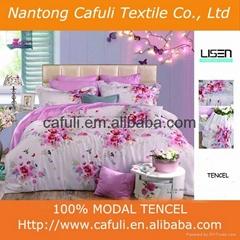 100% Lenzing Tencel Modal Reactive Printed Bedding Fabric