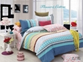 Popular Selling 100% Cotton Pigment Printed Bedding Textile Fabric 4