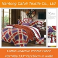 100% Combed Cotton 40S*40S/133*72 Printed Classic Bedding Fabric 3