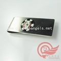 printed metal money clip factory