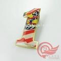 metal printing lapel pin